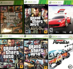 XBOX 360 Driving/Racing Games (Various Prices) -