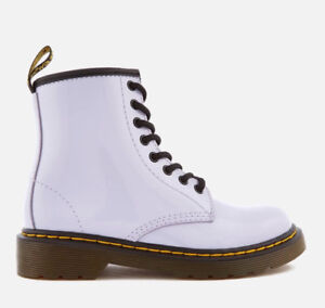 Dr. Marten White Junior Boot. Size US 2