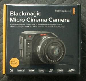 BLACKMAGIC DESIGN MICRO CINEMA CAMERA - Brand New In The Box !