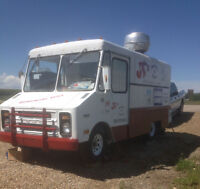 BURGER AND FRY TRUCK - NEW PRICE