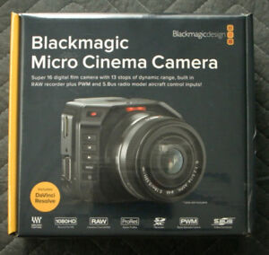 BLACKMAGIC DESIGN MICRO CINEMA CAMERA - Brand New In The Box !