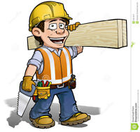 >>> LOOKING FOR 2 CARPENTERS <<<