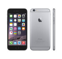 two iphone 6 16gig/ 64gig with warranty