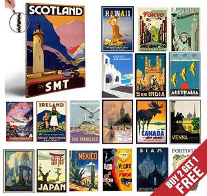 VINTAGE-RETRO-TRAVEL-RAILWAYS-A4-Posters-Nostalgic-Home-Art-Print-Wall-Decor