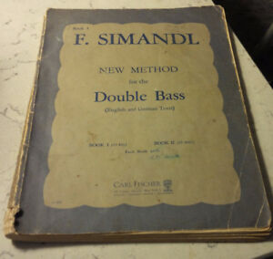 New Method for the Double Bass, F. Simandl