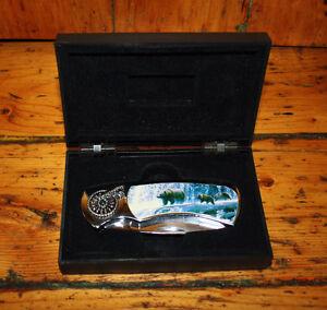 Presentation pocket knife