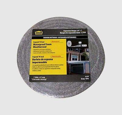 03100 M-d Compressible Expandable Waterproof Foam Weatherstrip Tape 14x1x13