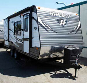 Keystone Hideout travel trailer 19FLBWE