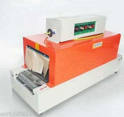 Thermal Heat Shrink Packaging Machine Tunnels For Pof Pvc