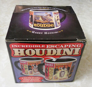 Incredible Escaping Houdini Coffee Mug