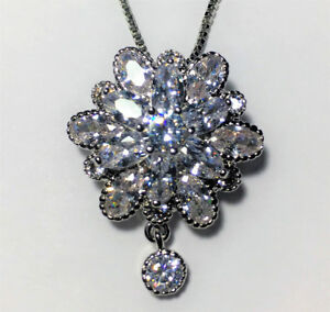 Several CZ pendant and necklaces prices in ad