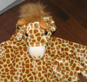 Youth New Velour Giraffe Costume Size 7-8