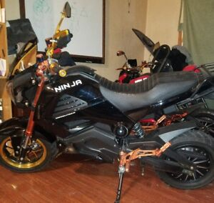 ninja e bike for sale only driven for one summer