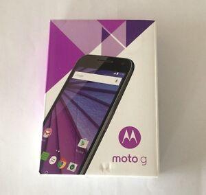 "Brand New in Box Unlocked Motorola G 3rd Generation 5"" Screen"