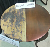 Antique/Vintage Wooden Furniture restoration/refinishing, etc.