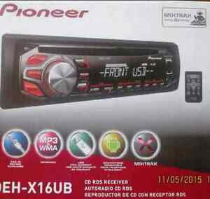Just like new pioneer deh-x16ub