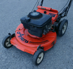Lawnmower, gas 5 HP, self-drive heavy-duty transmission