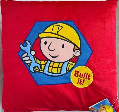 ~ Bob the Builder - CUSHION PLUSH BOYS PILLOW KIDS BED BEDROOM *On Sale* ()