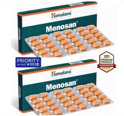 2x 60 tabs HIMALAYA MENOSAN Natural Increase Uterine Blood Flow Menopause