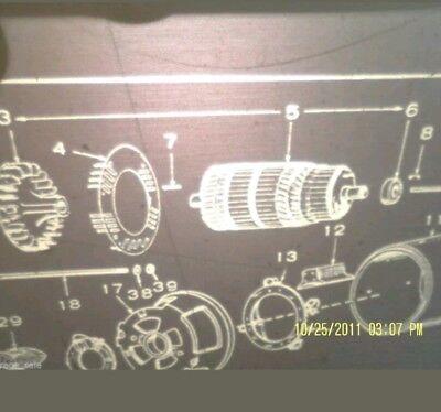 Fits 7cck 281cia 7 Kw Cck Genset 201-1312 Onan Rotor Armature  Nos