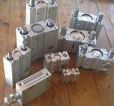 Smc Mdub50-50dm Pneumatic Compact Cylinder 50mm Bore 50mm Stroke