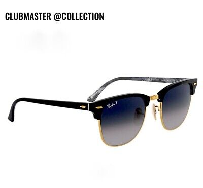 Authentic Ray Ban Clubmaster @COLLECTION Limited Sunglasses RB 3016 (White Clubmasters)