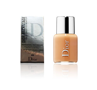 Dior Backstage Face & Body Foundation Natural Glow Finish 4N Travel Size 0.16 oz Dior Natural Glow Face