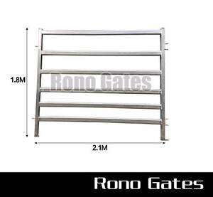 2mm thick Heavy Duty Cattle Horse Yard Panel Hot dipped Gal. Hallam Casey Area Preview