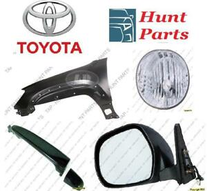 Toyota 4Runner 2006 2007 2008 2009 Door Handle Outer Mirror Fender Liner Inner Fog Lamp Light Ignition Coil AC Rebar