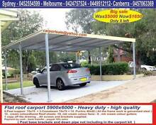Brand new carport sale  5.9  x  6  Was $ 4400 Now only $1650 Prestons Liverpool Area Preview