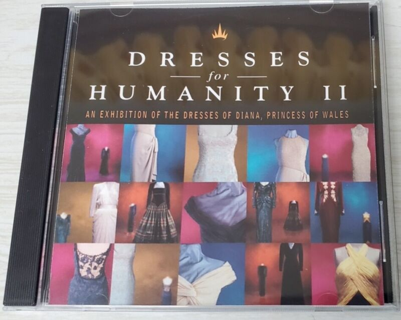 Dresses For Humanity II An Exhibition Of The Dresses Of Princess Diana SIGNED CD