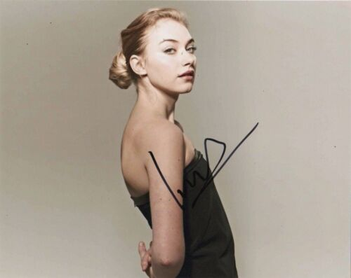 Imogen Poots Sexy Autographed Signed 8x10 Photo COA #J2