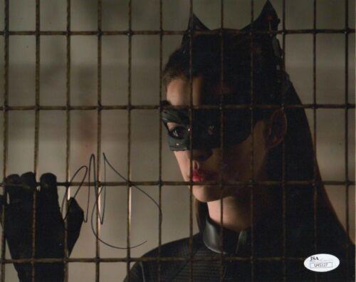 Anne Hathaway Batman Autographed Signed 8x10 Photo JSA COA #8