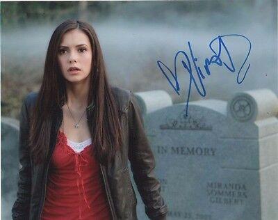 Nina Dobrev Vampire Diaries Autographed Signed 8X10 Photo Coa  5