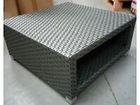 Osterley Rattan Ottoman / Table - Marks and Spencer - Brand New In Box