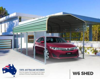 Portable Carport Shelter Garage in QLD