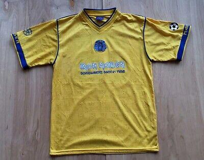 IRON MAIDEN Soccer Jersey Football shirt Official Merch Rare SZ Large B