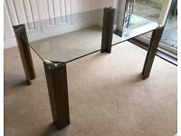 Dwell Clear Glass Dining Table 149cm FREE DELIVERY 371