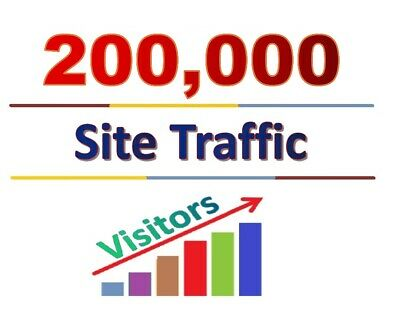 200000 Social Media Website Traffic With Low Bounce Rate Website Seo Promotion