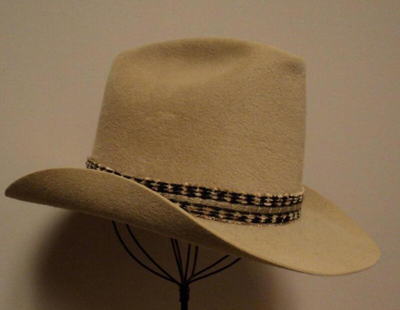 Vintage Biltmore Canada Camel Tan Fur Felt Canadian Soleil Western Cowboy Hat