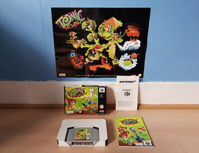 Tonic Trouble N64 Complete inc Map Good Con