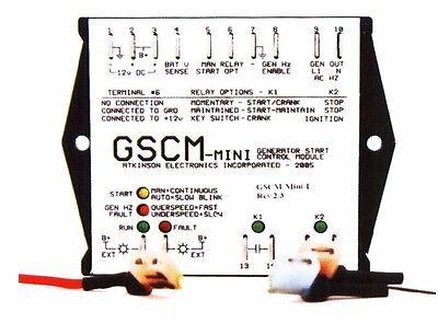 Auto Generator Start Ags 3 4 Wire Start Ac Inverter Generators Gscm Mini