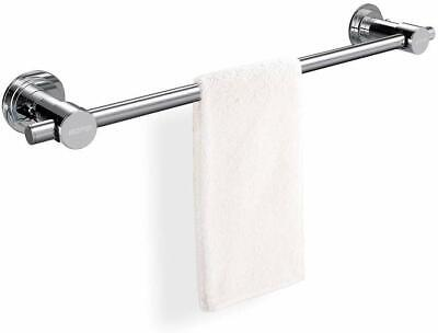 BOPai 24 inch Vacuum Suction Cup Towel Bar,Removeable Shower