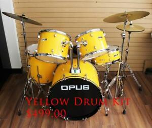 Acoustic Drum Set, Digital Drum Set www.musicm.ca Brand New Instruments With Warranty 3 Piece, 5 Piece, 7 Piece