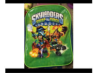 paw patrol and skylanders kids bags x2