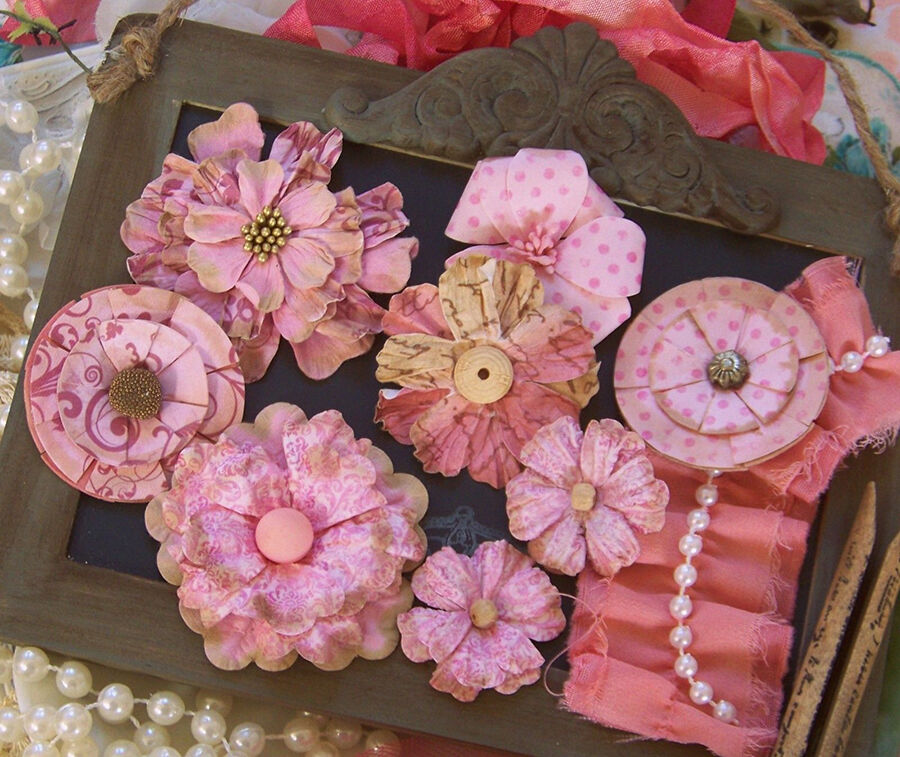 How To Make Paper Flowers For Mother 39 S Day Ebay