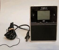 Timex Nature Sounds Dual Alarm Clock Radio MP3 Line In AM/FM Digital T312S