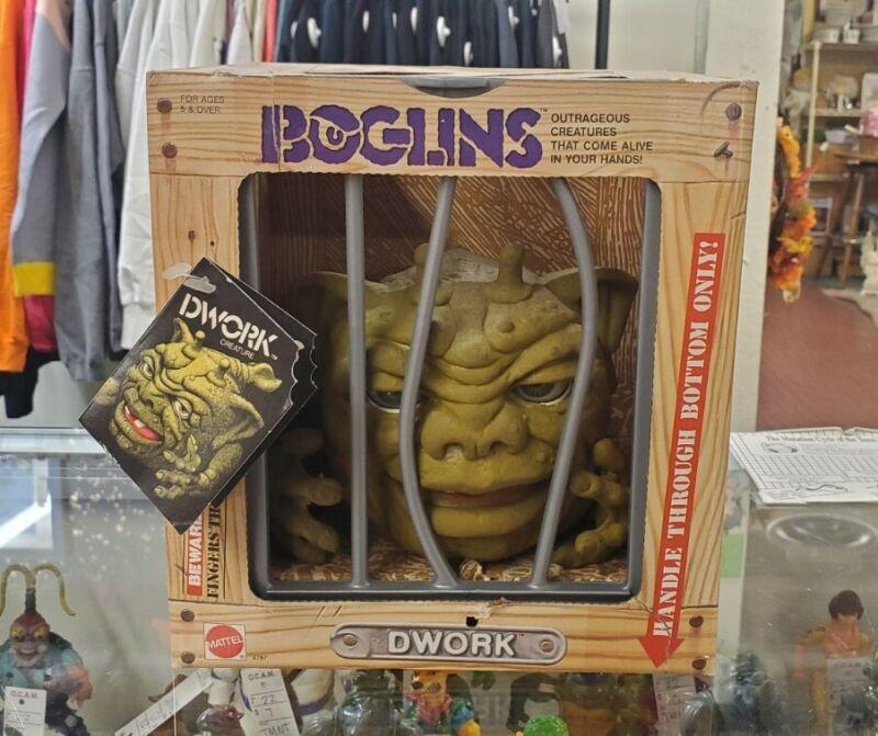Vintage 1987 Mattel Boglins - Dwork Excellent condition