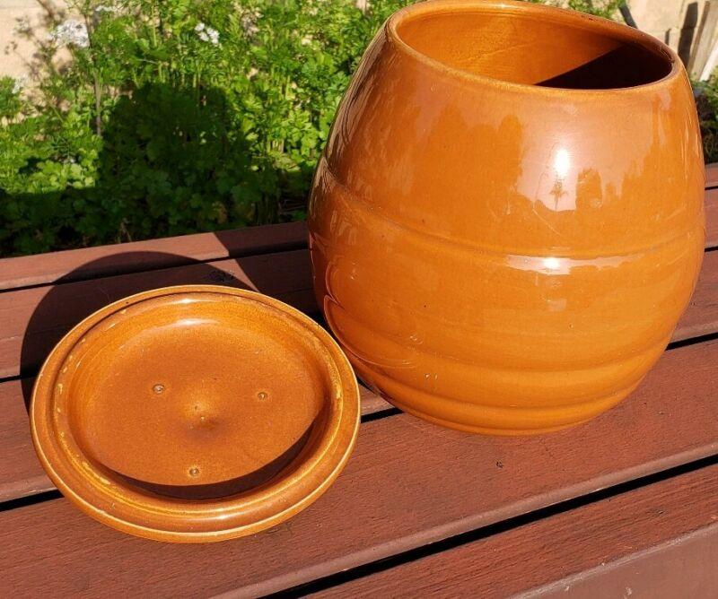 Vintage Bauer Pottery Ringware? Jar Pot