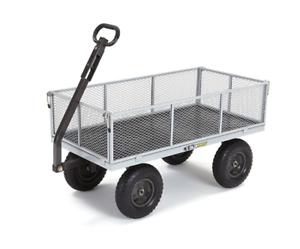 Gentil Gorilla Garden Carts Heavy Duty Steel Utility Cart Wagon Removable Sides  1000 IB